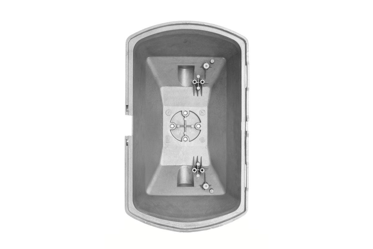 Отливка корпуса светильника l-3-10, 3D фото